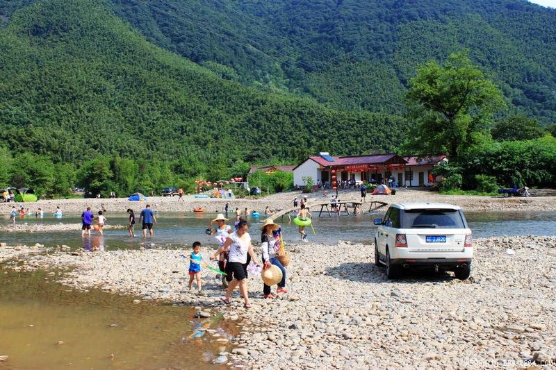 泾县名胜 月亮湾风景区